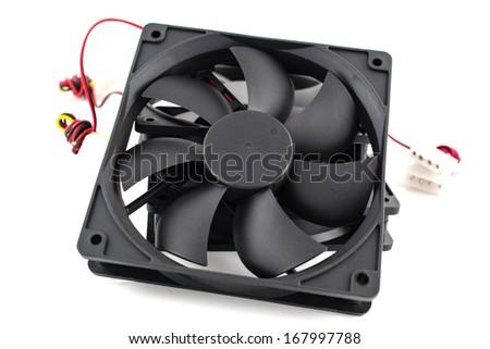 vector computer fan - stock photo