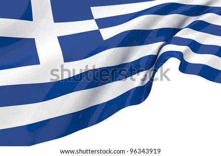 Vector Flags of Greece