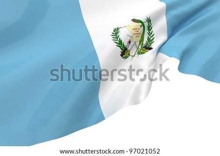 Vector Flags of Guatemala