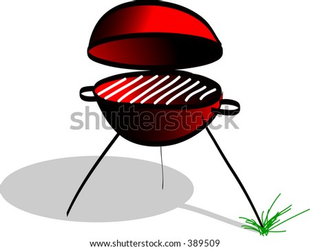 vector image barbeque
