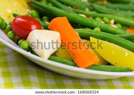 Vegan Food , mixed - stock photo