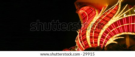 Vegas nights - stock photo