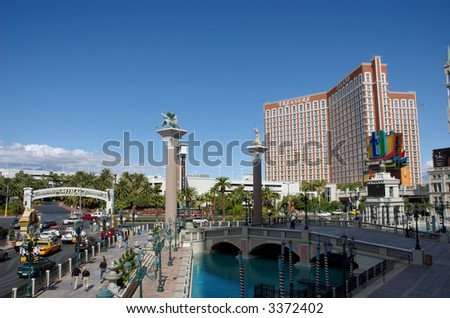 Vegas Treasure Island - stock photo