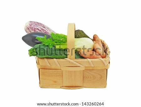 Vegetable Basket - stock photo