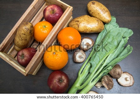 Vegetable fresh