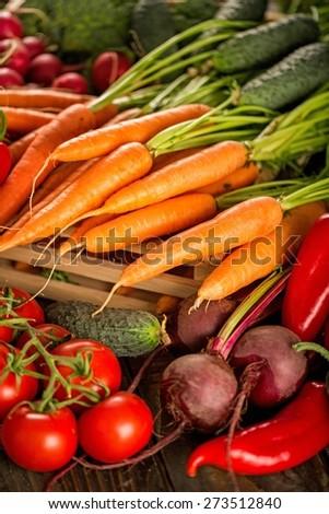 Vegetable, Healthy Eating, Food. - stock photo