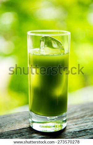 vegetable juice - stock photo