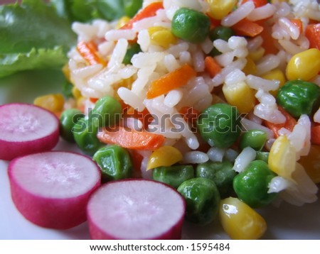 Vegetable mix - stock photo