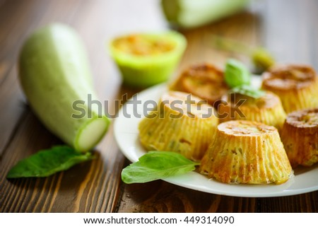 vegetable muffins with zucchini