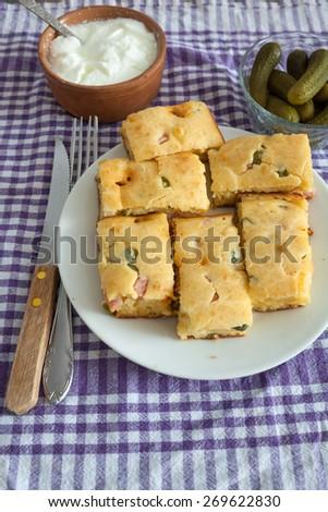 Vegetable Pie - stock photo