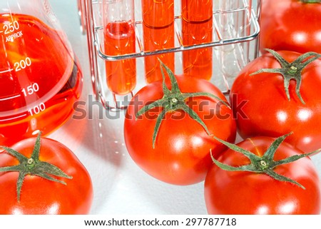 vegetable test,  tomato, Genetic Modification, Scientific Experiment