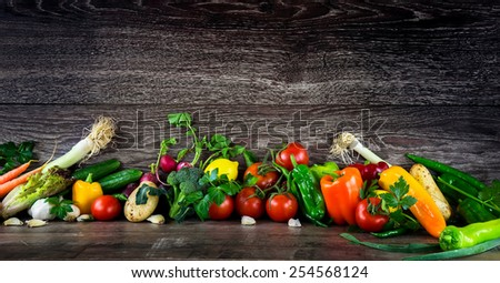 Vegetables All Together - stock photo