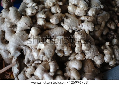 vegetables at a farmers market - stock photo