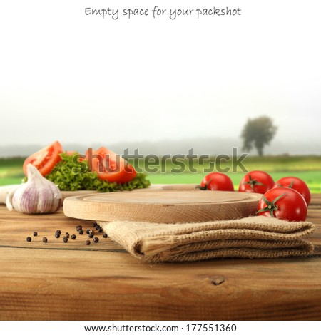 vegetables diet  - stock photo