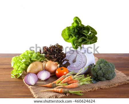 Vegetables Healthy Weight Loss - stock photo