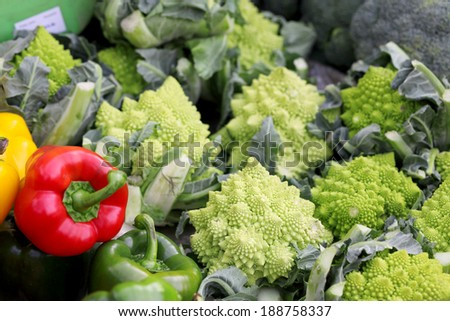 Vegetables in bazaar