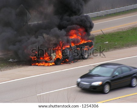 vehicle fire