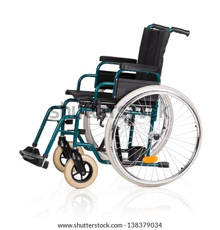 Vehicle for handicapped persons - wheelchair.