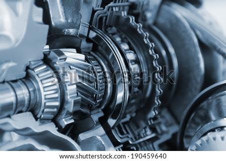 vehicle gear set - stock photo