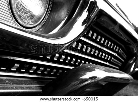 Vehicle Grill - stock photo