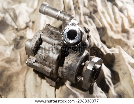 Vehicle hydraulic pump