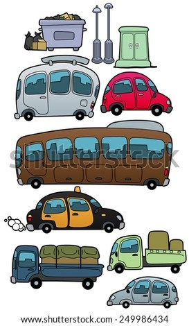 Vehicles - stock photo