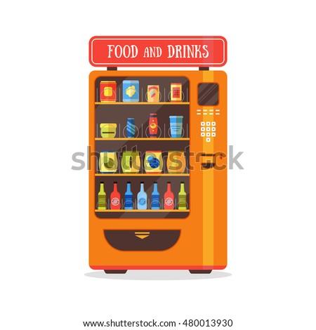 food and beverages vending machine market
