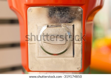Vending Machines - stock photo