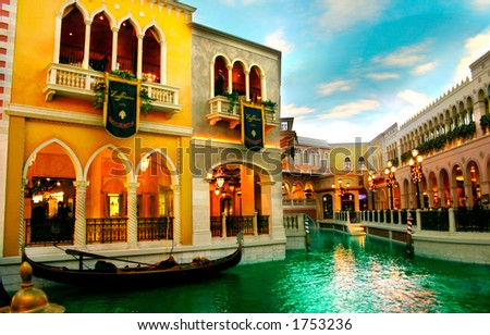 Veneciano, Las Vegas - stock photo