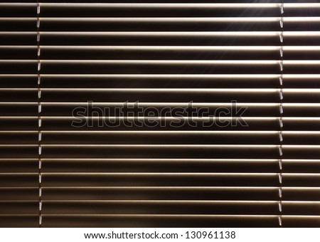 Venetian blind background - stock photo