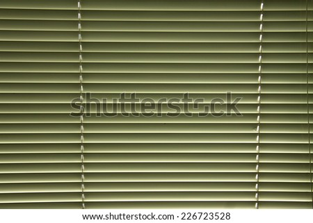 Venetian blinds, close up image as background - stock photo