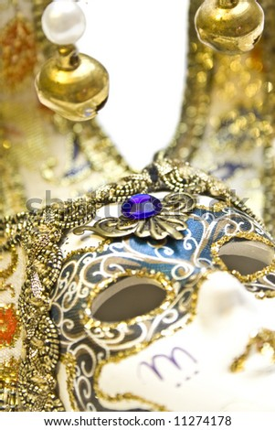 Venetian mask or Memories of the trip to Venice