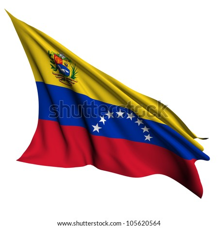 Venezuela flag - collection no_4 - stock photo