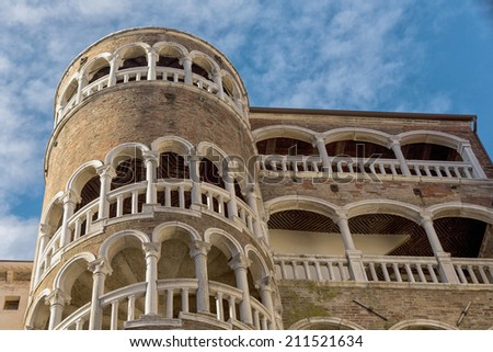 Venice architecture landmark located in city of Venice, Italy - stock photo