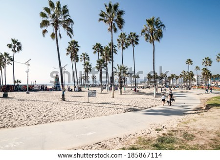 Venice Beach, Los Angeles - stock photo