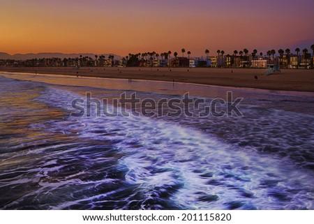 Venice Beach, Venice, California, United States - stock photo