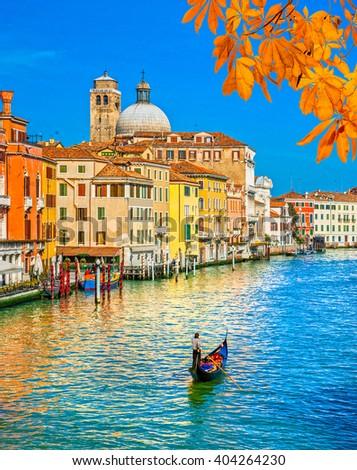 Venice, Canal Grande, Italy - stock photo