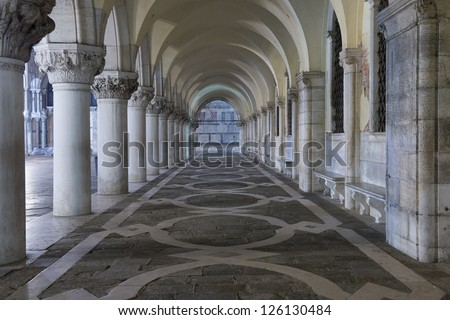venice column - stock photo