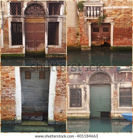 Venice: different entraces...