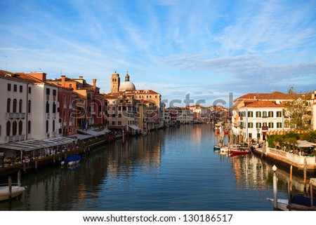 Venice Grand Canal.