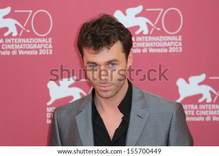 VENICE, ITALY - AUGUST 30: James Deen attends 'The Canyons' Photocall during the 70th Venice International Film Festival on August 30, 2013 in Venice, Italy