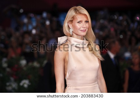 VENICE, ITALY - SEPTEMBER 03  : Actress Gwyneth Paltrow attends the premiere of  'Contagion' during the 68th Venice Film Festival on September 3, 2011 - stock photo