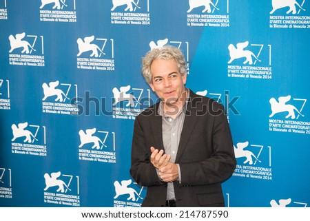 VENICE, ITALY - SEPTEMBER 03: Director Michael Almereyda attends the 'Cymbeline' Photocall during the 71st Venice Film Festival on September 3, 2014 in Venice, Italy.
