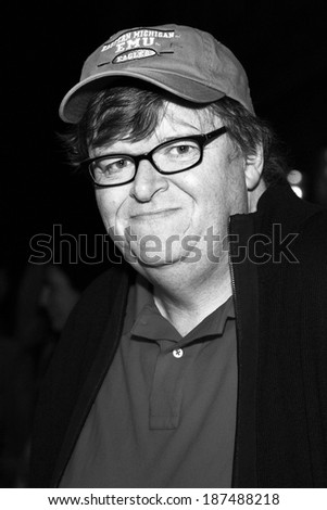 VENICE, ITALY - SEPTEMBER 06: Documentary filmmaker Michael Moore attends the 'Capitalism: A Love Story' photo-call  during the 66th Venice Film Festival on September 6, 2009 in Venice, Italy.