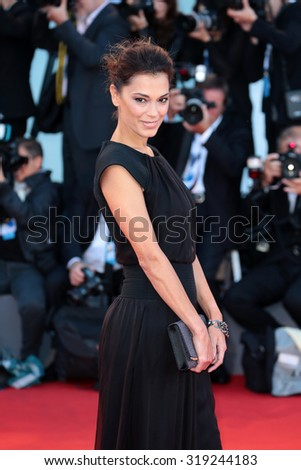 VENICE, ITALY - SEPTEMBER 06: Giorgia Surina during the 72th Venice Film Festival 2015 in Venice, Italy