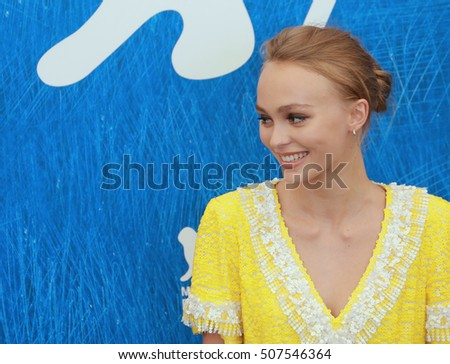 VENICE, ITALY - SEPTEMBER 08: Lily-Rose depp  during the 73th Venice Film Festival 2016 in Venice, Italy