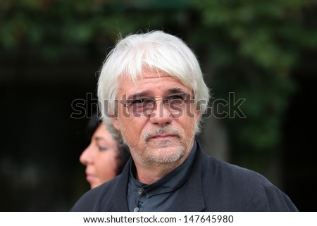 VENICE, ITALY - SEPTEMBER 05: Ricky Tognazzi at the Venice Film Festival on September 05, 2012 in Venice, Italy