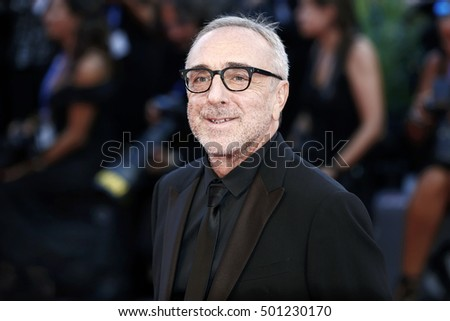 VENICE, ITALY - SEPTEMBER 03: Silvio Orlando attends the premiere of 'The Young Pope' during the 73rd Venice Film Festival on September 3, 2016 in Venice, Italy.
