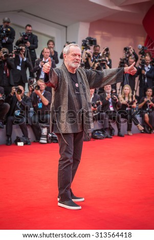 Venice, Italy - 04 September 2015: Terry Gilliam attends a premiere for 'Black Mass' during the 72nd Venice Film Festival