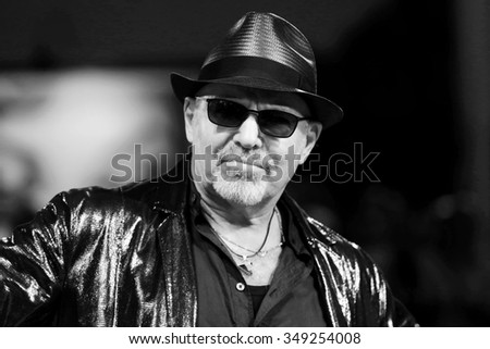 VENICE, ITALY - SEPTEMBER 11:  Vasco Rossi attends the premiere of 'Il Decalogo Di Vasco' during the 72nd Venice Film Festival on September 11, 2015 in Venice, Italy.